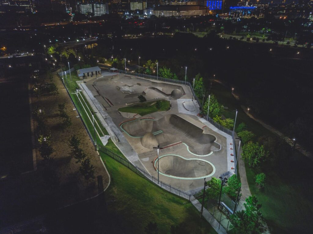 Skate parks are not just any park. They are the mecca of every skateboarder, inline skate, or freestyle BMX biker. Loaded with ramps, grinding rails, benches, and boxes for every freestyle athlete to let