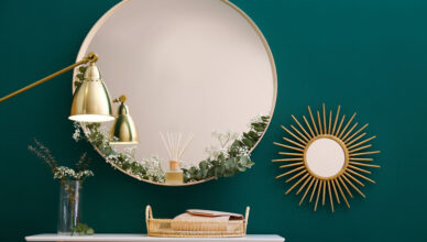 9 Wooden Decorative Wall Mirrors to Shop Now