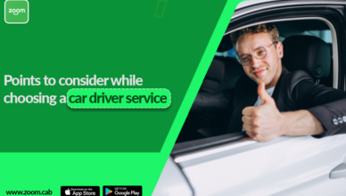 Points To Consider While Choosing a Car Driver Service