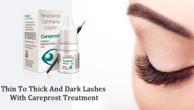 Thin To Thick And Dark Lashes With Careprost Treatment